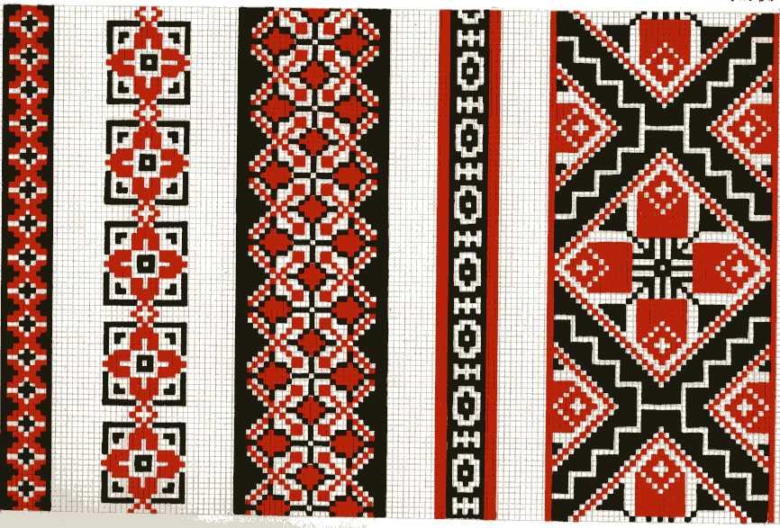 схеми вишивки хрестиком