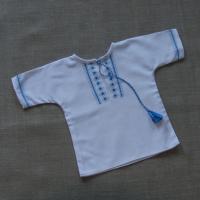"""Льоля-вишиванка """"Синьо-блакитні ромби"""" (kolos_28)"""