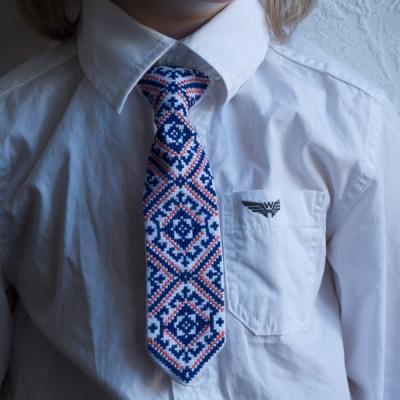"Краватка для хлопчика ""Зоряна ніч"""