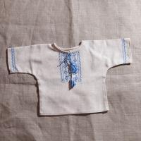 """Льоля-вишиванка """"Синьо-блакитні луки"""" (льон) (kolos_041)"""