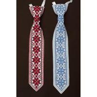 """Краватка """"Чорно-червоні квіти"""" (kolos319)"""