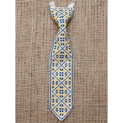 "Краватка ""Синьо-жовта украінська""."