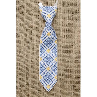 """Краватка """" Украінська дитина """"."""