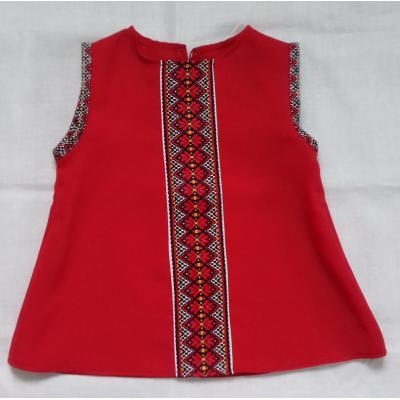 "Cарафан-сукня "" Червона барва ""."