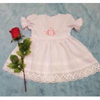 """Хрестильна сукня """"Рожева ніжність"""". (kolos363)"""