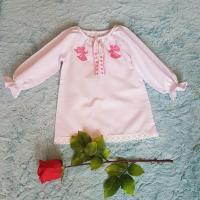"""Хрестильна сукня """"Ангелик (рожевий)"""". (kolos326)"""