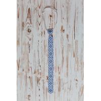 """Чоловіча краватка """" Небесна височінь"""". (kolos331)"""